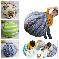 Storage Bean Bags Beanbag Chair Plush Toys Kids Bedroom Play...