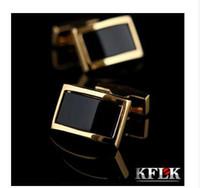 KFLK 남성용 커프스 단추 커프스 단추 커프스 단추 골드 커프스 단추 gemelos 고품질 웨딩 abotoaduras Jewelry