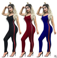 New women gym clothing sportswear fitness exercise jumpsuit ...