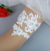 جديد الرباط الزفاف الأربطة الأربطة الزفاف الصورة الحقيقية يزين اللؤلؤ الملونة اليدوية الزفاف الساق الأربطة رخيصة