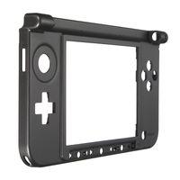 Custodia inferiore nera Custodia con coperchio centrale Cornice centrale Kit di ricambio Copertura console per 3DS XL LL NAVE VELOCE di alta qualità