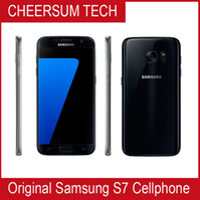 Original Samsung Galaxy S7 G930A G930T G930P G930V G930F Unlocked Telefon Octa Core 4GB / 32 GB 5.1inch 12MP Renoviert Samsung Mobiltelefon