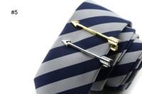 Нежные зажимы для галстука серебристо-золотой металлический джентльмен шикарный галстук застежка высокое качество галстук бар много стилей свободный корабль