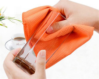 Balance à poisson Microfibre Nettoyage Serviette Verres Cuisine Serviettes de table Cuisine Serviettes propres Essuie-Glace Absorption d'eau Rag Cuisine Outils