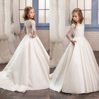 Girls Pageant Gowns Flower Girls Dresses for Wedding Formal ...