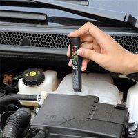 2018 새로운 브레이크 유체 액체 테스터 펜 5 LED 자동차 자동차 도구 진단 도구 미니 브레이크 유체 테스터