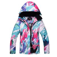 2018 Young Girl Snow Jackets Woman Ski Jacket Snowboarding C...