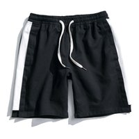 Shorts Hommes 2018 Summer Casual Shorts de plage Taille élastique Shorts de plage au genou Mens Fashion