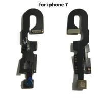 Petite caméra frontale pour iPhone 5S 6 6s 6s Plus Capteur de proximité faisant face à la caméra avant Câble Flex pour iPhone 7 7 Plus