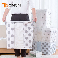 Non- woven Quilt Storage Bag Home Clothes Quilt Pillow Blanke...