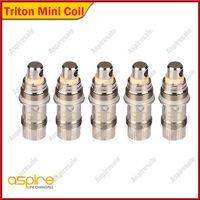 Autentico Triton Mini Testa Bobina NI200 0.15ohm 15-20W 1.2ohm Clapton Bobina 1.8ohm Triton Mini Tank Serbatoio Nautilus