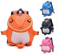 3D Dinosaur Backpack For Boys Zaini per bambini bambini scuola materna Piccola scuolaBag Girls Animal School Bags Backpack