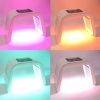 أوميغا LED تجديد الجلد آلة PDT الفوتون العلاج بالضوء معدات التجميل مع 7 ألوان لإزالة حب الشباب علاج التجاعيد