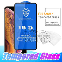 5D 6D 9D 10D Tempered Glass Full Adhesive Glue For iPhone XS...