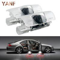 2 x LED 자동차 문 Lexus RX 300 330 GS 400 430 HS IS 200 250 LS LX 570 ES SC 용 레이저 프로젝터 로고 고스트 섀도우 라이트