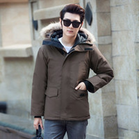 Wholesale Youthful Popularity Mens Winter Coat With Fur Pers...
