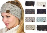 21 couleurs Lady Hair Accessories Fashion Belle bandeau à cheveux Navire gratuit tricoté