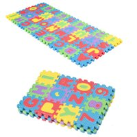 36pcs Soft Eva Foam Baby Play Floor Mat Alphabet Numbers Kid...