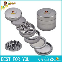 HONEYPUFF Aircraft Aluminum Herb Grinder 63MM With Removable...