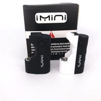 Imini 500mah Box Mod аккумулятор для густых нефтяных картриджей Испытание 510 резьбовая батарея FIT Siberty V1 TAX205 TH210 Wax распылитель Vape Battery