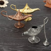 High quality 12cm Aladdin Magic Lamp Fairy Tale Magic Lamps ...