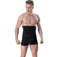1b177c7f409a1 Mens Slimming Waist Belt Trainer Hot Thermal Neoprene Body Shaper Strap  Tummy Trimmer Males Slim Pulling Underwear Corset