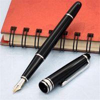 고품질 163 수지 펜 걸작 Burgundy 롤러 볼 펜 및 볼펜 / 분수 펜 번호 선물