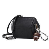 الشحن مجانا حقيبة سلسلة نساء فتاة 2018 تصميم جديد هونج كونج نمط الرجعية الأزياء الكورية حقيبة يد واحدة الكتف التجزئة الجملة