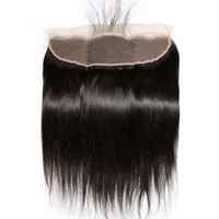 Closure Lace Frontal Straight 13x4 Nature Color Brazilian Re...