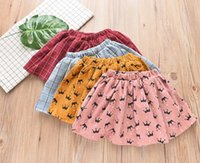 New style 2018 Autumn Winter corduroy Girls Skirts printing ...