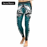 PHILADELPHIA EAGLE S 13 Impression 3D Femmes Leggings Taille Haute Legging Steelers Imprimé Femmes Pantalon Slim Fitness Leggins