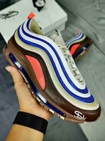 Men 97 Eminem 97 Peace Love Running Shoes Womens 97s Parra R...