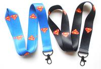 Nouvelle arrivee! Livraison gratuite 60pcs Superman lanière pour MP3 / 4 téléphone portable DS lite Iron buckle
