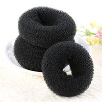 1Pc New Fashion Women Girl Magic Blonde Donut Hair Ring Bun ...