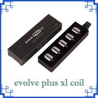 2019 In magazzino Evolve Inoltre XL cera QUAD Coil Quad quatz Rod bobine con la protezione per Evolve Inoltre XL Pen Kit DHL 0.266.167