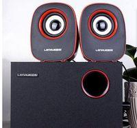 3 Notebook Mini Audio Desktop Computer USB Mini Speaker 2.1 Speaker Subwoofer Anslutningsläge 3.5mm Ljuduttag
