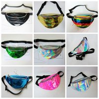 Women Fanny Pack PU Laser Purse Should Waist Chest Bag Hip B...