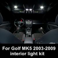 Shinman 12pcs error free القراءة مصباح اكسسوارات السيارات الداخلية الخفيفة ل volkswagen VW Golf / GTI MK5 2003-2009