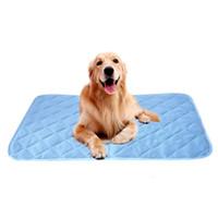 الكلب حيوان أليف السرير برودة حصيرة سادة بارد غير سامة الحيوانات الأليفة وسادة التبريد وسادة الصيف تبريد سرير حصيرة لينة بارد بيت الكلب حصيرة