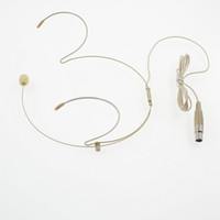 Microfono Headset per cuffia con connettore Mini 4 pin XLR Connettore TA4F per PGX14 SLX14 Wireless Body-Pack Transmitter