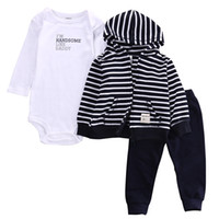 2017 Autunm Winter Wear Baby Boy Outfits Clothes Coat+ Romper...