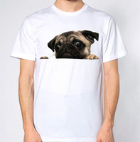 Pug Top Dog Animal Lover Puppy Funny Hilarious New T- Shirt H...