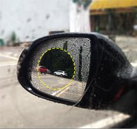 Car Rearview Mirror Protective Film Anti Fog Car Mirror Wind...