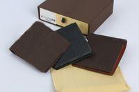 Borse da uomo moda uomo M60895 Portafogli in grafite in vera pelle borsa corta con scatola cx # 290