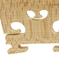 استبدال 1/4 حجم الكمان أجزاء سلسلة مركز جسر خشبي