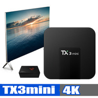 TX3 MINI TV Box Amlogic S905W Quad Core 64 Bits Bits WIFI Sm...