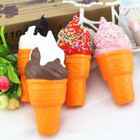 jouets gâteau à la crème de la crème de vente à chaud du pain d'émulation Pu jouet sous forme de mousse Pu jouets rebond lent T4H0332