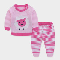 infant children girl clothes set fashion spring autumn baby ...