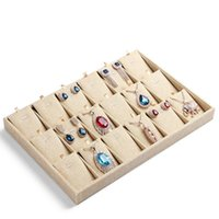 18 grids pendants bracelets show box jewelry display accesso...
