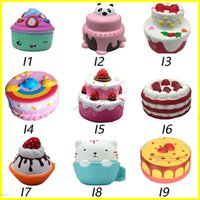 Squishy cakes Fruit cake ice cream squishies Slow Rising 10c...